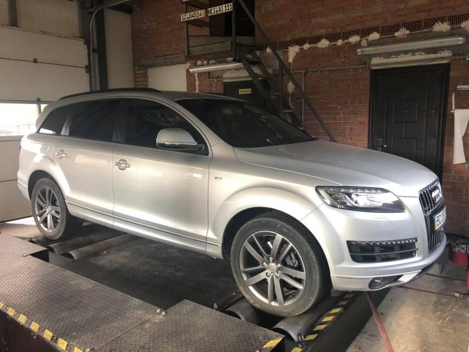Audi Q7 3.0 245HP 1 1 - Чіп-тюнінг Audi Q7 3.0 tdi