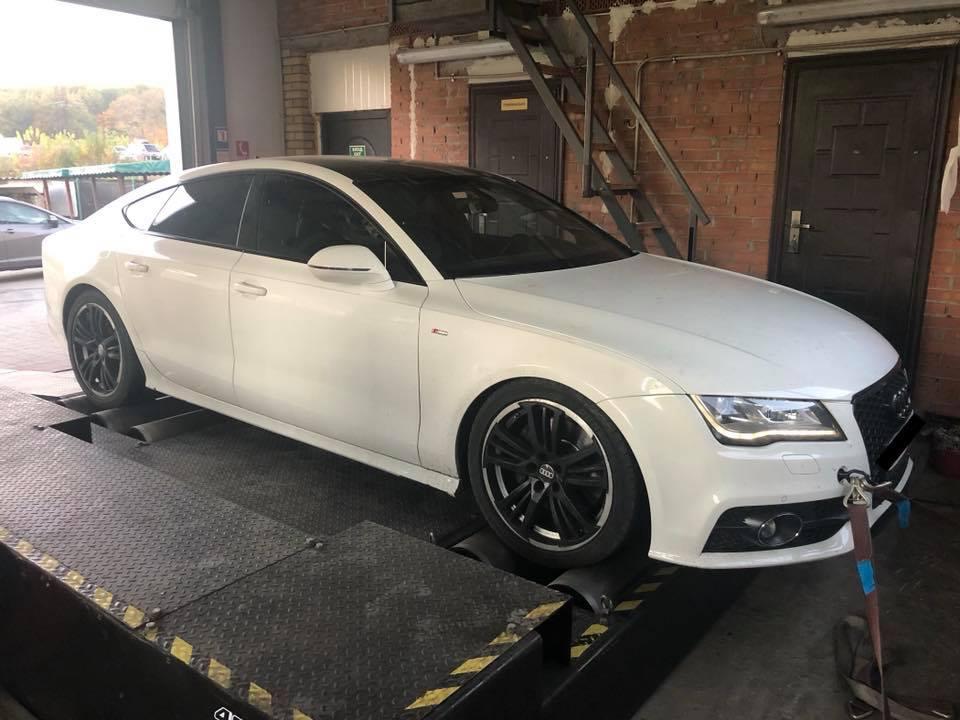 Audi a7 3.0 245HP 2 - Чіп-тюнінг Stage2 + DSGDL501 Audi A7 3.0tdi