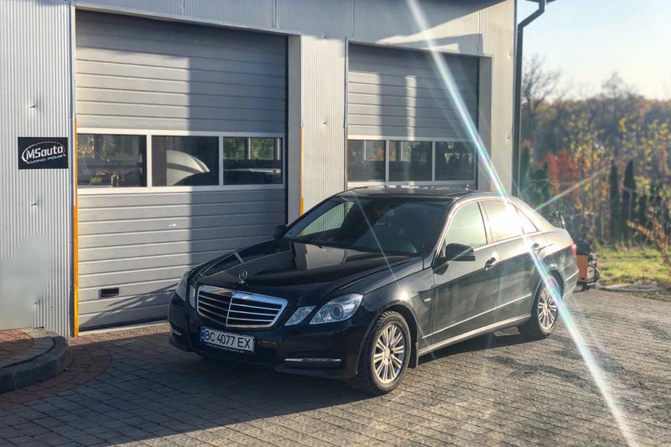 сажевого фільтру MB e250 - Видалення сажевого фільтру MercedesBenz E250cdi