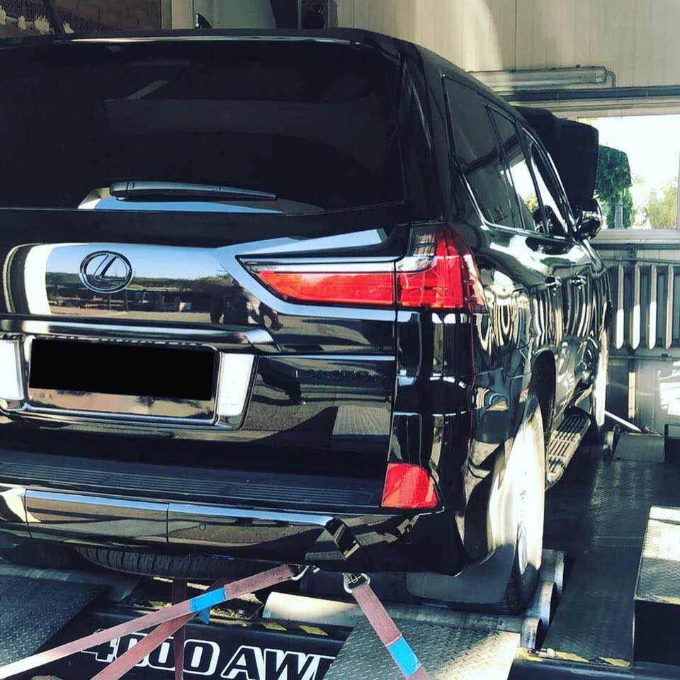 LEXUS LX 450 STAGE1 MSAUTO 1 - Чіп-тюнінг Stage1 для Lexus LX 450D