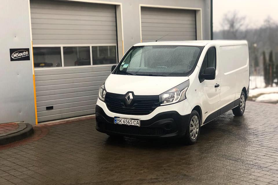 Renault Trafic 1.6dci - Чіп тюнінг Renault Trafic 1.6dci