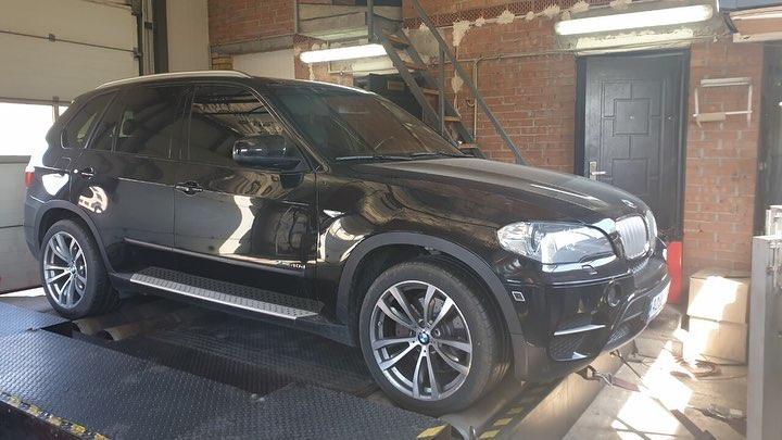 Чіп тюнінг BMW X5 E70