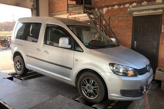Чіп тюнінг VW Caddy 1.6tdi Stage1 + DPF +EGR