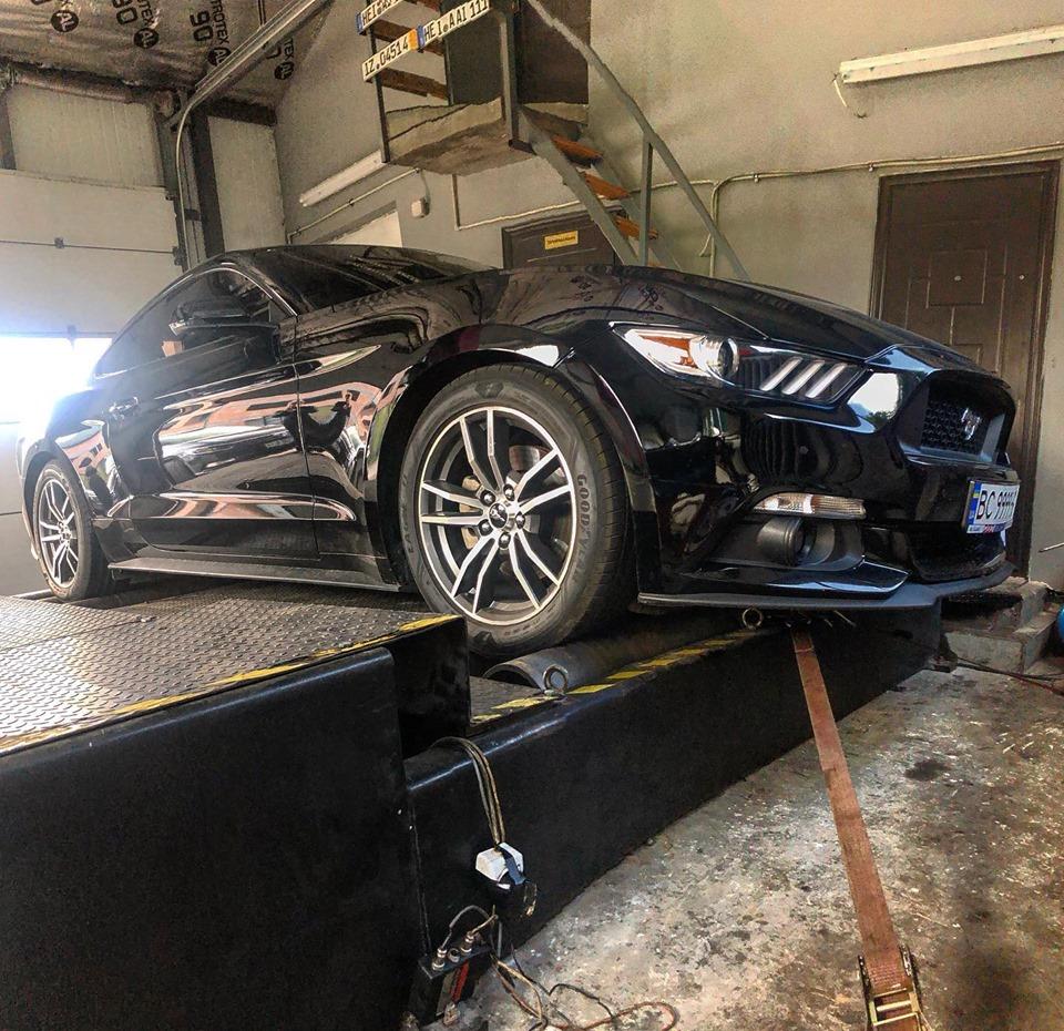 Чіп тюнінг Ford Mustang 2.3 2018 ecoboost Stage2