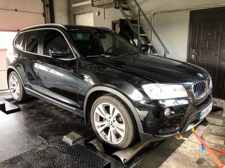 Чіп Тюнінг  BMW X3 F25 2.0D 184hp
