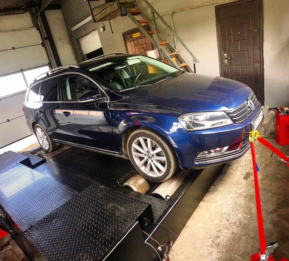 Чіп Тюнінг VW Passat B7 2.0tdi 136HP Stage1