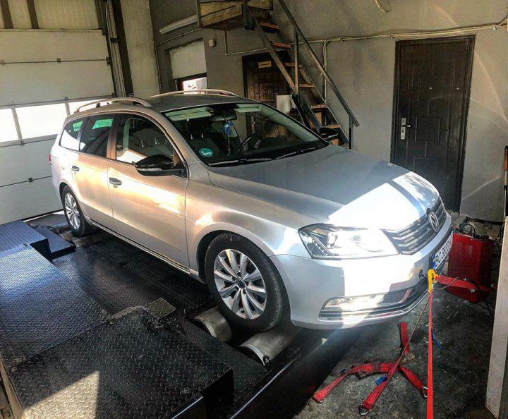 Чіп тюнінг  VW Passat B7 2.0tdi