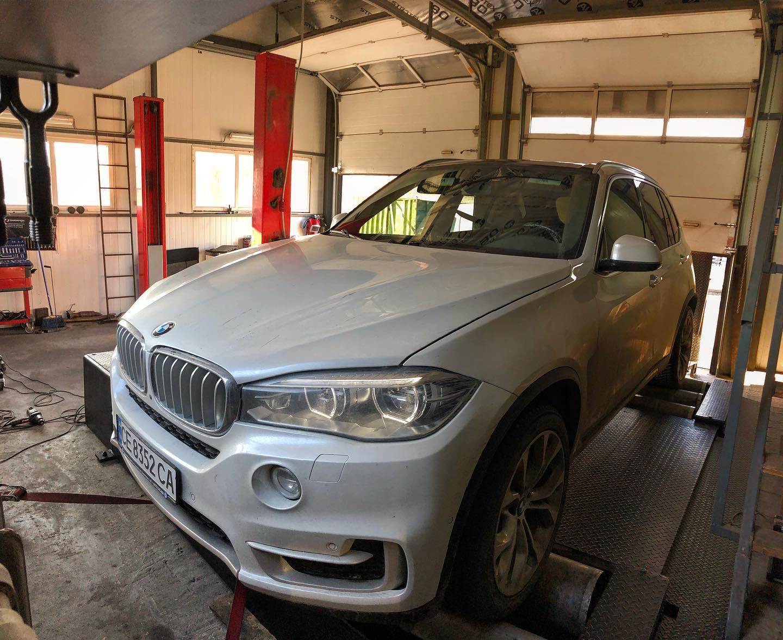 Чіп тюнінг BMW X5 F15 258hp 30d 2018