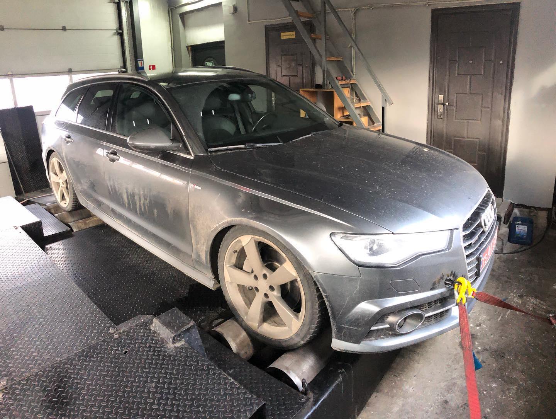 ЧІП ТЮНІНГ Audi A6 C7 3.0tdi CRTF Stage1