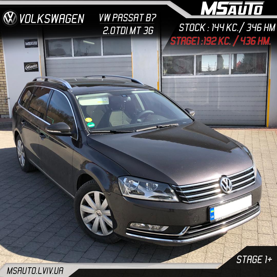 Volkswagen Passat B7 2.0tdi MT