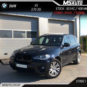 BMW X5 E70 35i Виконано: Stage1
