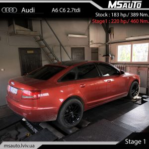 1 St Bilyj vosstanovleno 300x300 - Audi A6 C6 2.7tdi Stage1