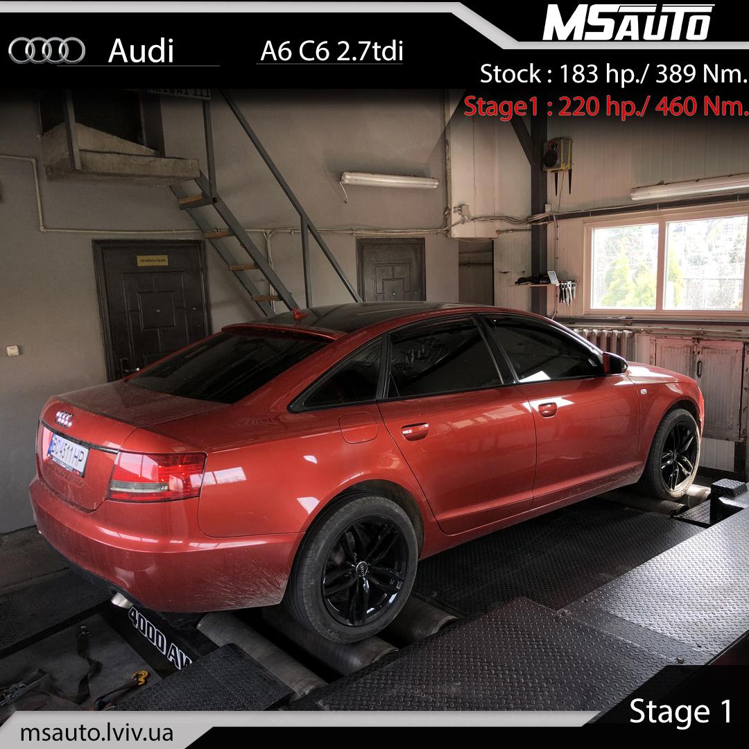 Audi A6 C6 2.7tdi Stage1
