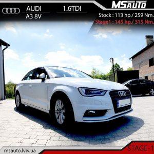 Audi A3 8V 1.6 TDI msauto 1 1 300x300 - ЧІП ТЮНІНГ Audi A3 8V 1.6 TDI