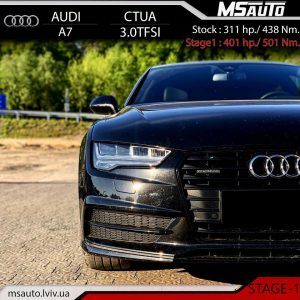 Audi A7 3.0 tfsi CTUA 310hp Stage1 Msauto 300x300 - ЧІП ТЮНІНГ Audi A7 3.0 tfsi CTUA 310HP