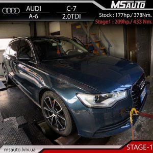 Audi A6 C7 2.0tdi Stage1MSauto lviv 300x300 - Чіп тюнінг Audi A6 C7 2.0tdi Stage1