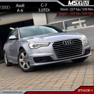 Audi A6 C7 3.0tdi CRTE stage1 msauto 300x300 - Чіп Тюнінг Audi A6 C7 3.0tdi CRTE Stage1