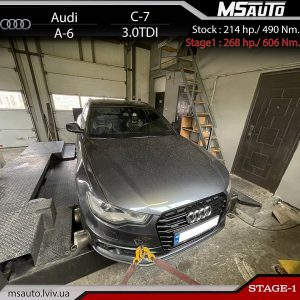 Audi A6 C7 3.0tdi CLAA MSAUTO 300x300 - Чіп тюнінг Audi A6 C7 3.0tdi CLAA