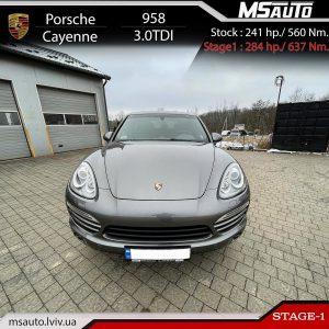 Porsche Cayenne 958 3.0tdi MSAUTO 300x300 - Чіп Тюнінг Porsche Cayenne 958 3.0tdi