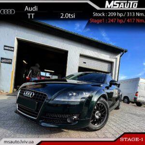 Audi TT 2.0tsi BWA Stage1 MS 300x300 - Чіп тюнінг Audi TT 2.0tsi BWA Stage1