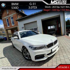 BMW 530D G31 Stage1 300x300 - Чіп тюнінг BMW 530D G31 Stage1