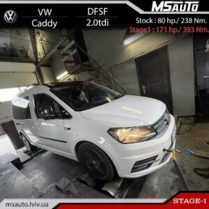VW Caddy 2.0tdi DFSF Stage1 Msauto 300x300 - Чіп тюнінг VW Caddy 2.0tdi 75HP DFSF  Stage1