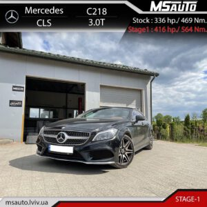 Mersedes cls 3.0T stage1  300x300 - Чіп тюнінг Mercedes CLS 3.0T RON9 Stage1