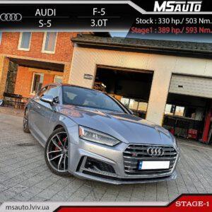 Audi S5 F5 3.0T stage1 msautolviv 300x300 - Чіп тюнінг Audi S5 F5 3.0T Stage1