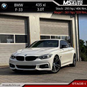 BMW 435xi F34 Stage1 msauto 300x300 - Чіп тюнінг BMW 435xi F34  Stage1